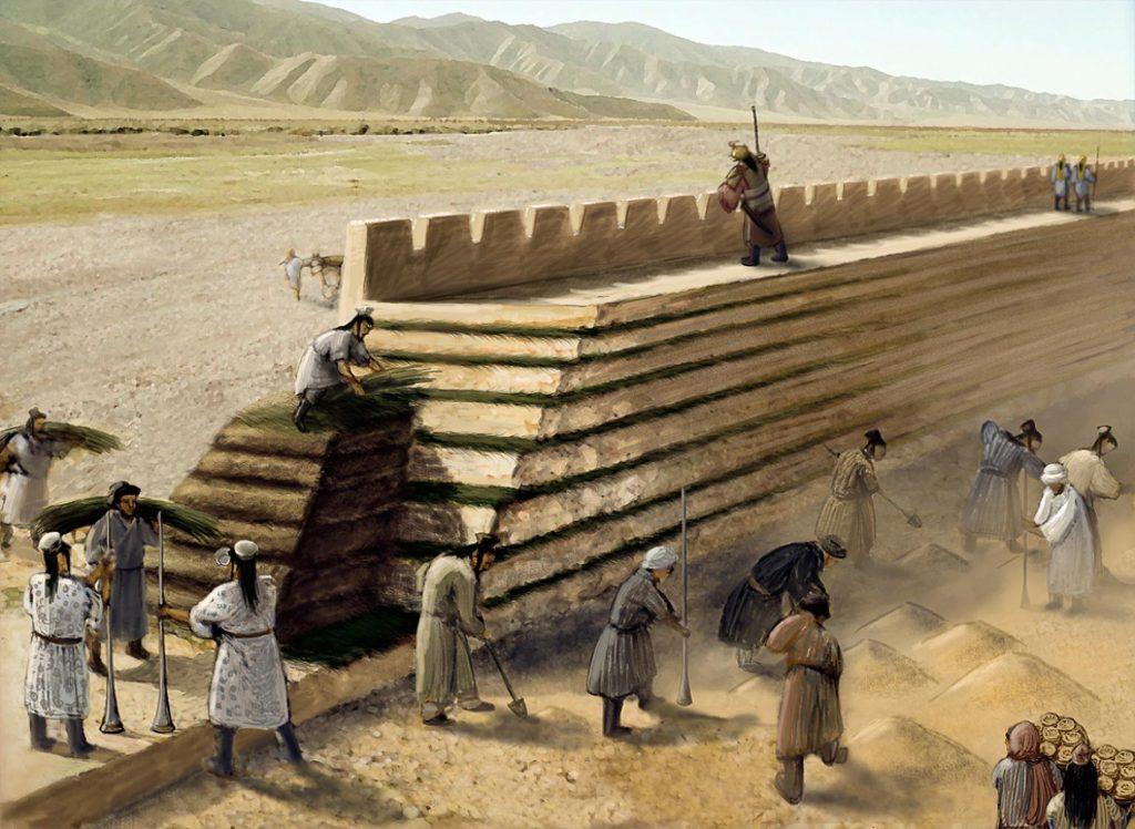 rammed earth great wall